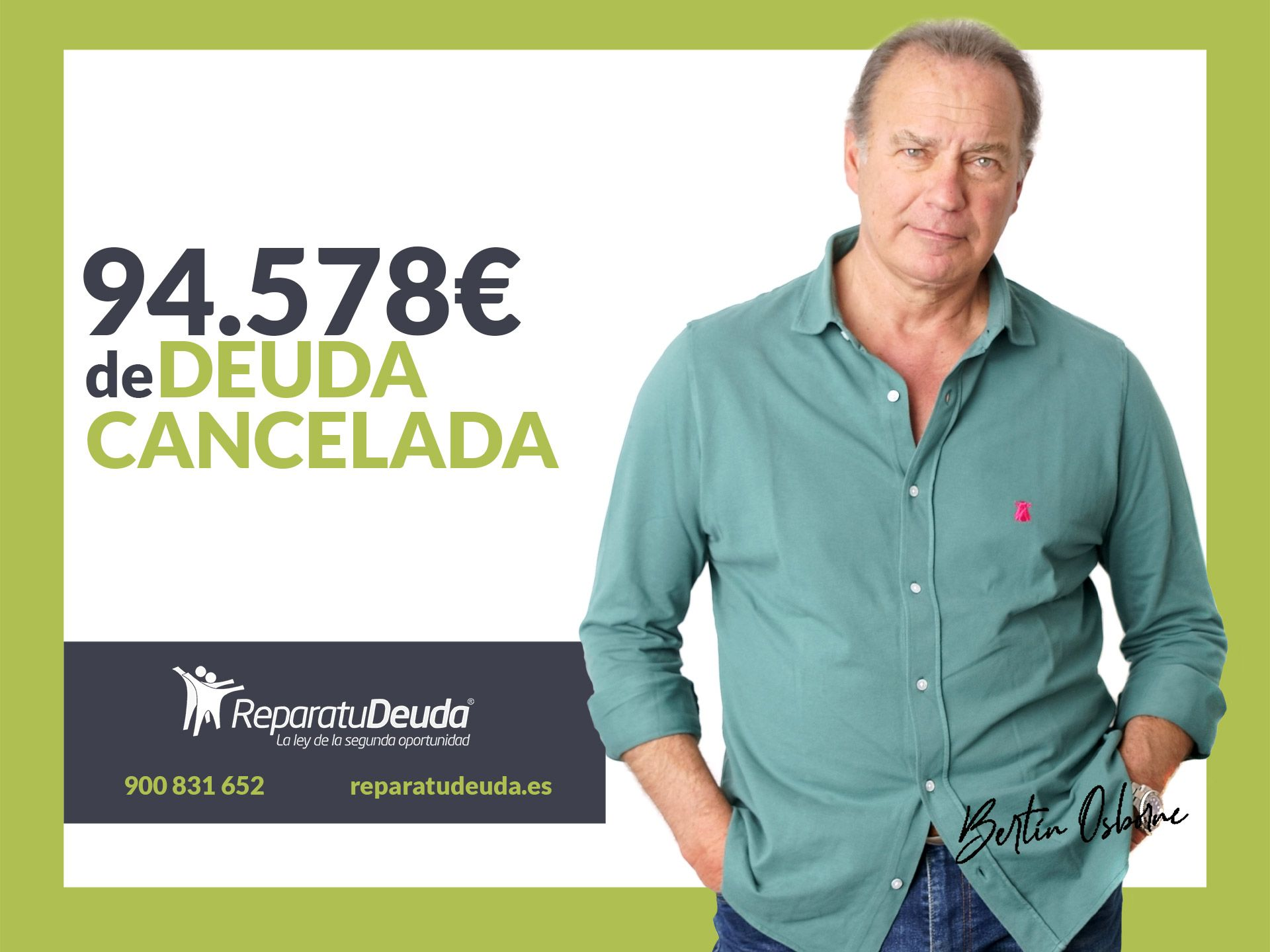 Repara tu Deuda Abogados cancela 94.578 ? en Madrid con la Ley de Segunda Oportunidad