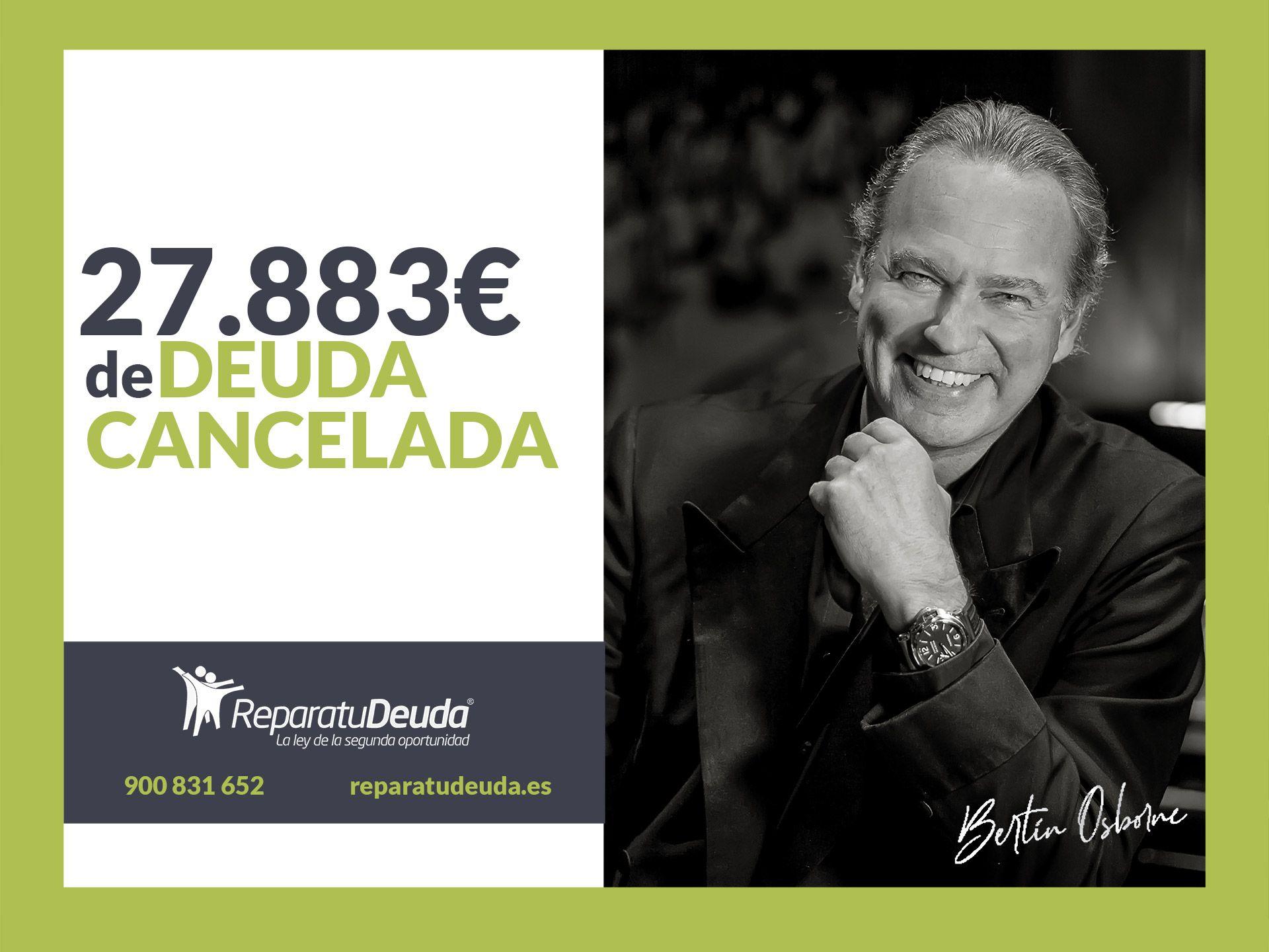Repara tu Deuda Abogados cancela 27.883? en Elche (Alicante) con la Ley de Segunda Oportunidad