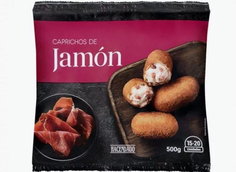 CROQUETAS DE JAMÓN HACENDADO