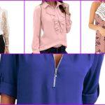 Amazon: 10 blusas primaverales muy elegantes por menos de 30 euros en su web