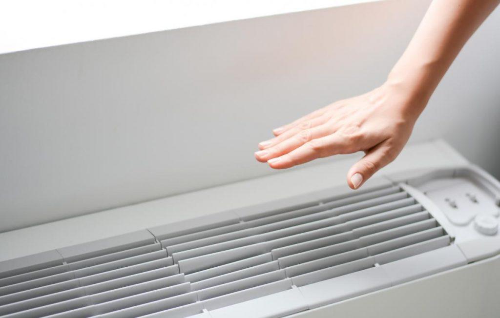 Capacidad de refrigeración aire acondicionado
