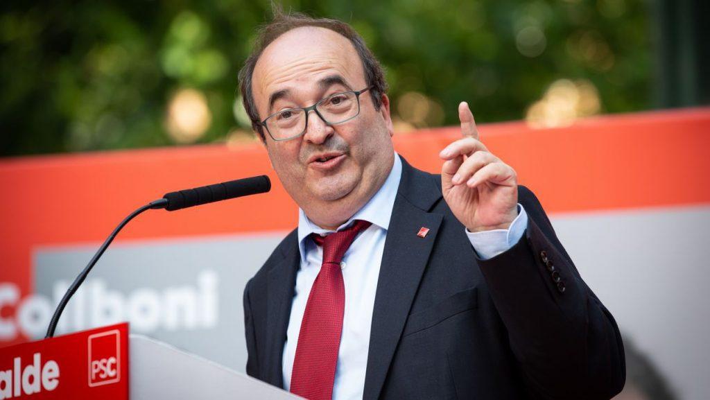 """Iceta no responde si habrá referéndum consultivo: """"habrá agenda para el reencuentro"""""""