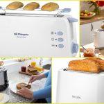Las 3 tostadoras preferidas por los clientes este 2021 en Amazon: Philips Daily, Orbegozo TO 4012 y Tristar Br-1009
