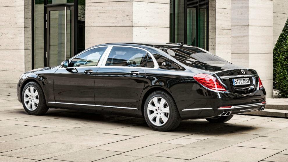 Los cochazos del Rey Felipe: Mercedes-Maybach S600 Guard