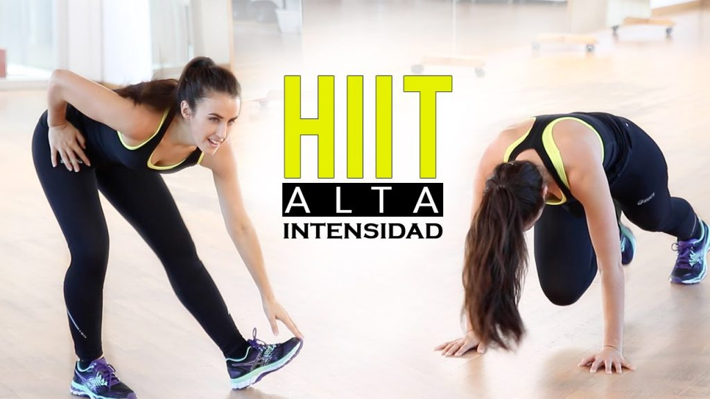 ¿Qué es el ejercicio HIIT?