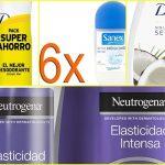 Sanex, Dove y Neutrógena: los packs en oferta de productos de aseo para ahorrar en tu compra mensual