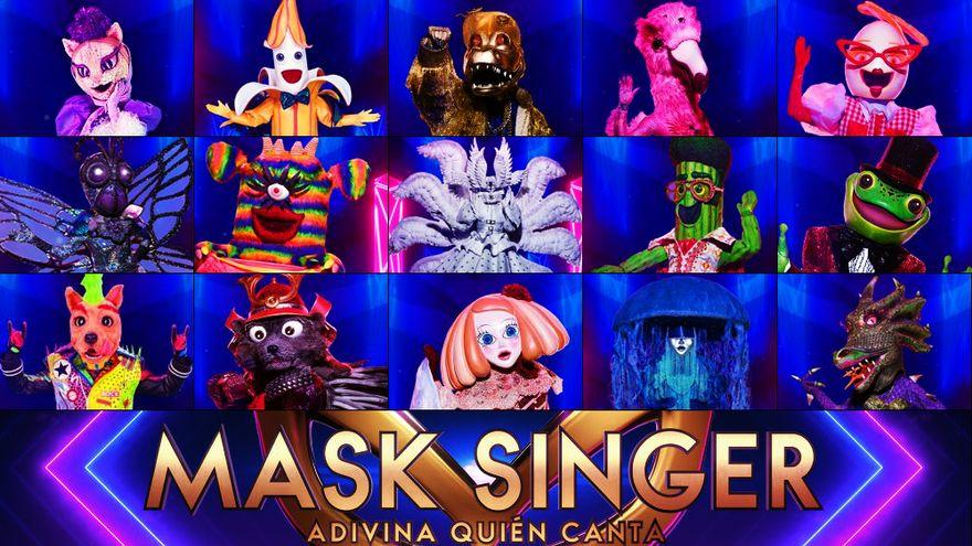 Segunda edición de Mask Singer