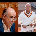 """Besos, abrazos y copazos: el nº2 de Ruiz Escudero se va de """"guateque"""" al Open de tenis"""