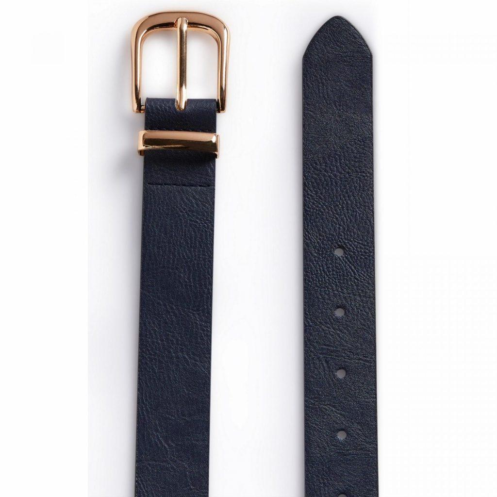 cinturon azul hebilla primark