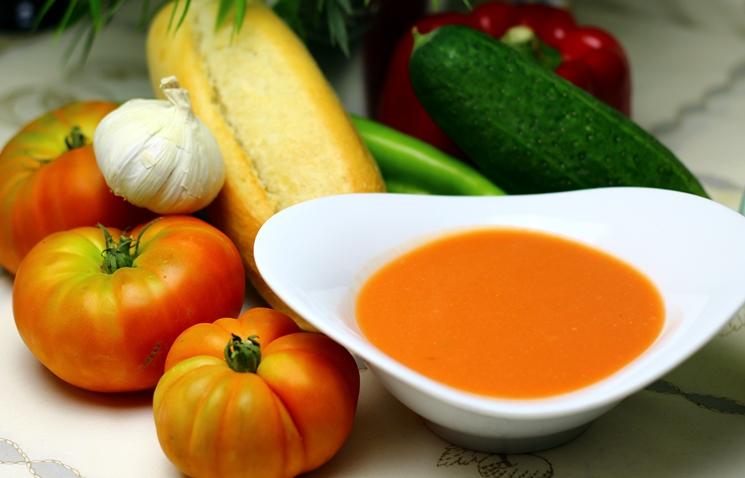 ingredientes gazpacho