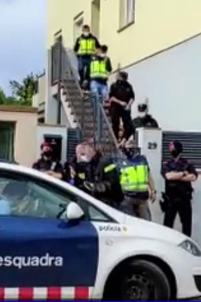 Detención de Prendes Sales, el informático e hijo de la neonazi de Girona