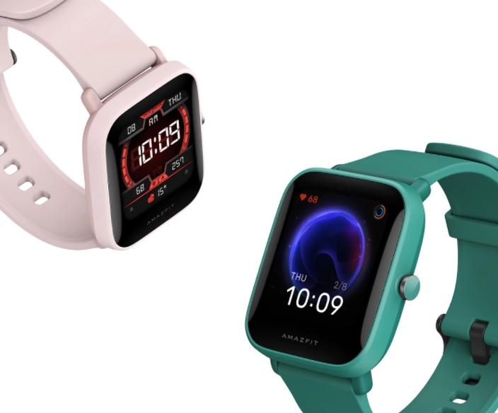 reloj con correa en color