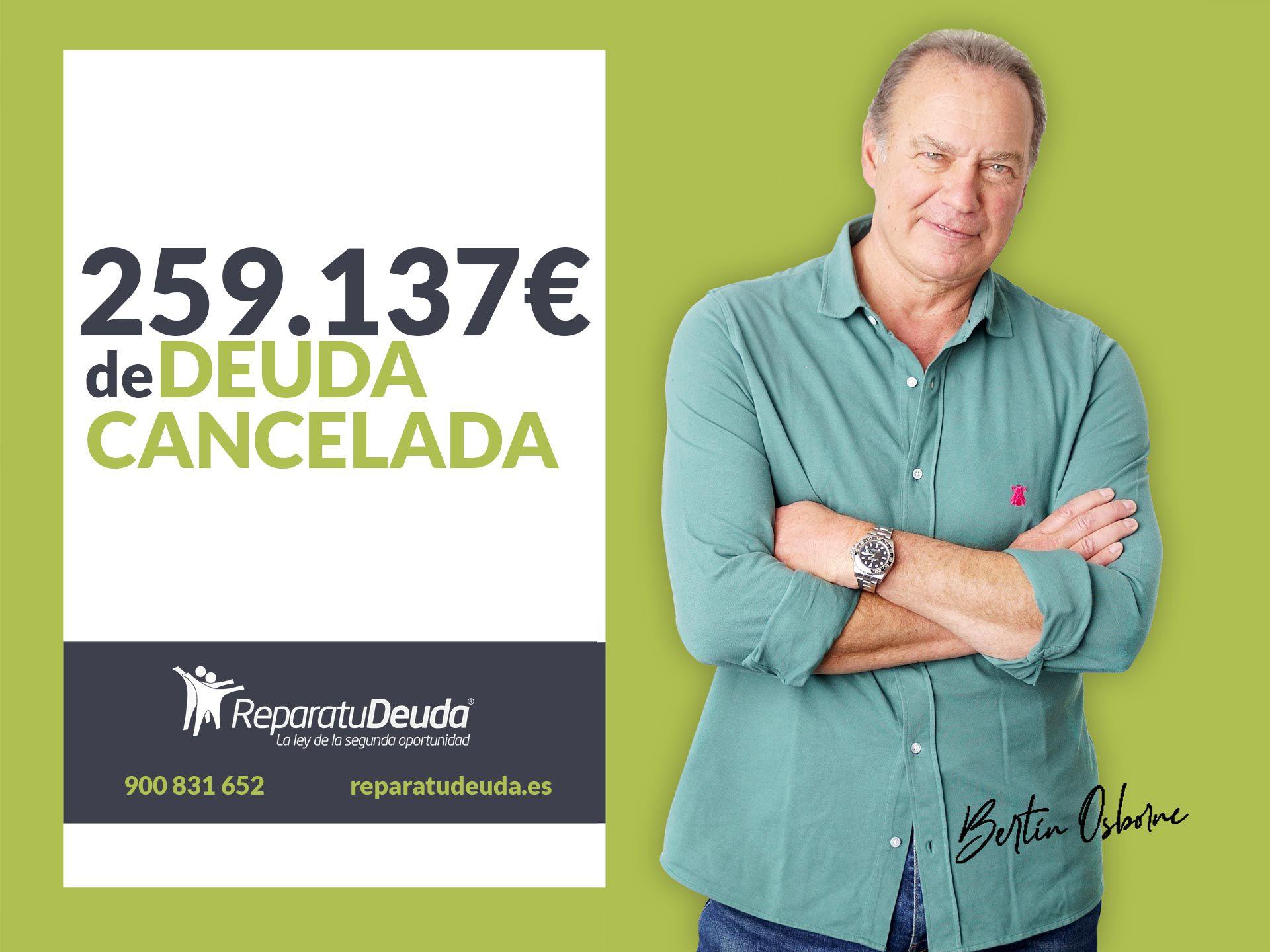 Repara tu Deuda Abogados cancela 259.137 ? en Granollers (Barcelona) con la Ley de Segunda Oportunidad