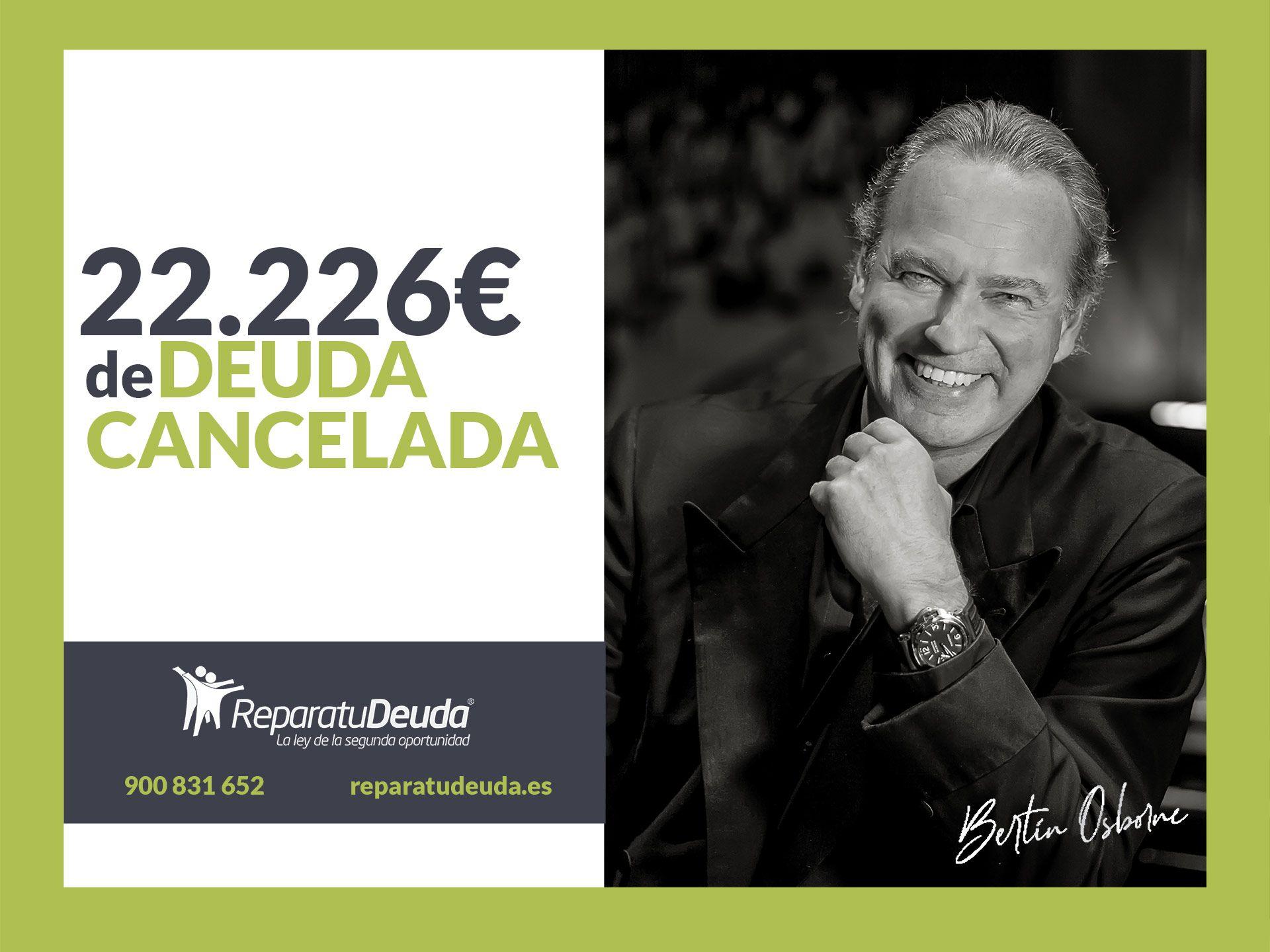 Repara tu Deuda cancela 22.226? en Bilbao (Bizkaia) con la Ley de la Segunda Oportunidad