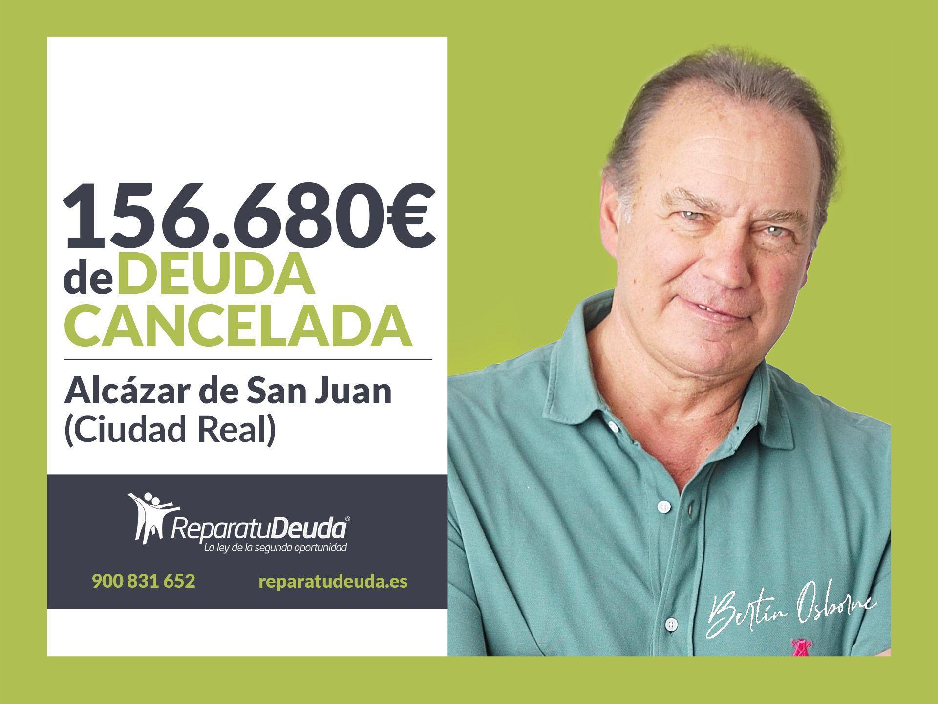 Repara tu Deuda cancela 156.680 euros con avalistas en Ciudad Real con la Ley de la Segunda Oportunidad
