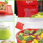 Amazon: utensilios de cocina muy geniales para cocinar de forma sana y rápida al microondas