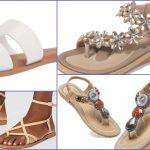 Sandalias planas con tiras de Amazon que dan mil vueltas a Zara y Mango