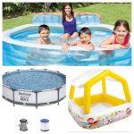 Intex y Bestway: las mejores piscinas hinchables y desmontables de Amazon por menos de 200€