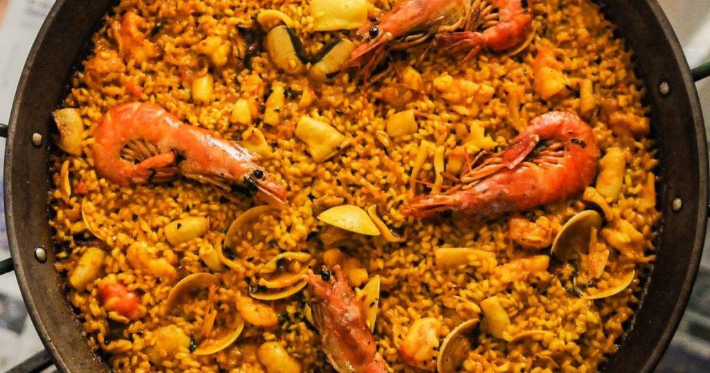 arroz paella