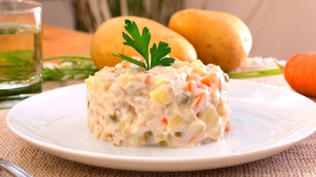 ensaladilla rusa plato calorico