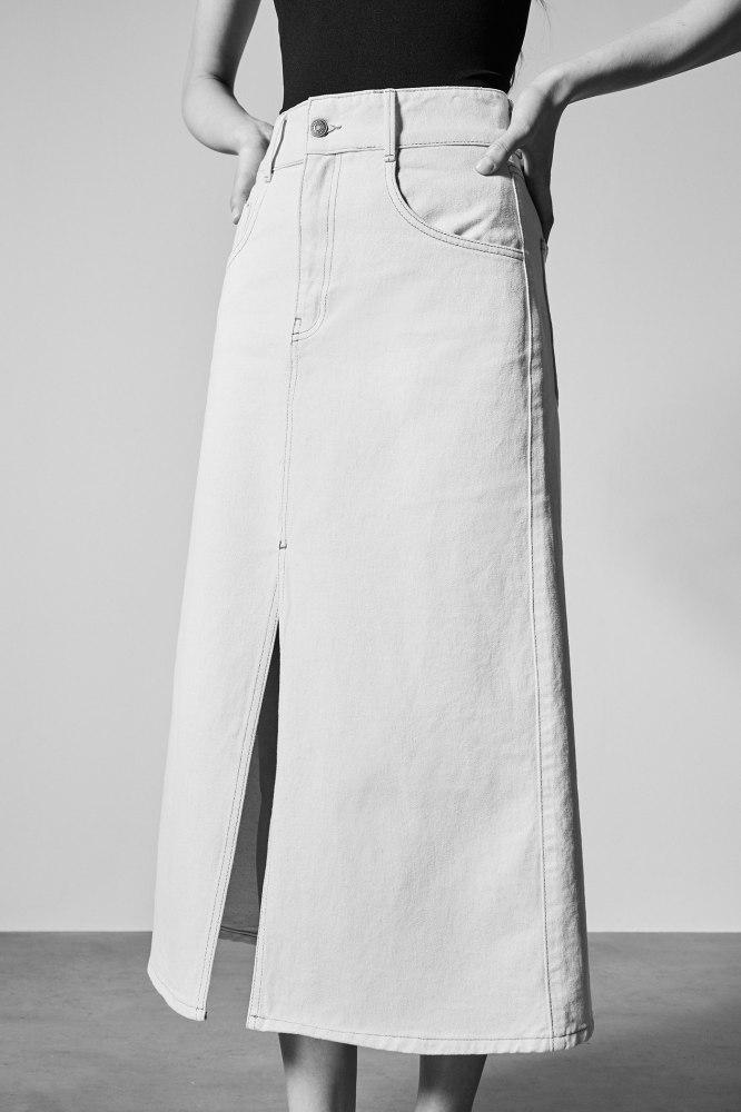 falda denim
