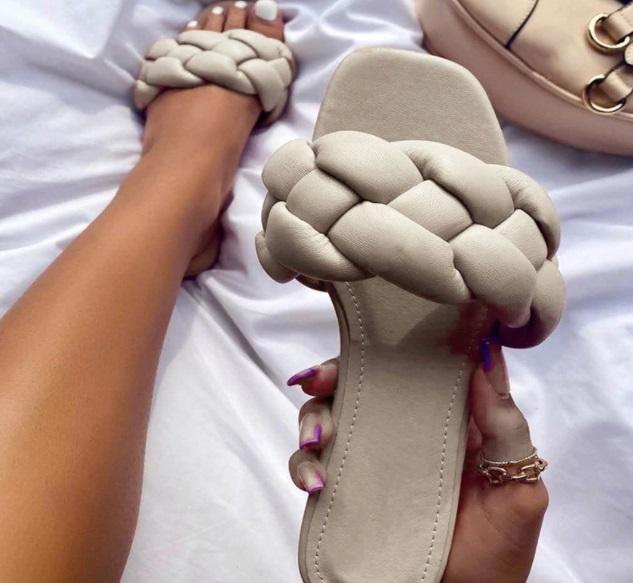 sandalias trenzado
