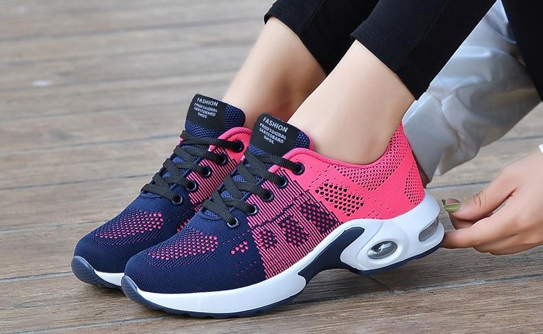 zapatillas running combinadas