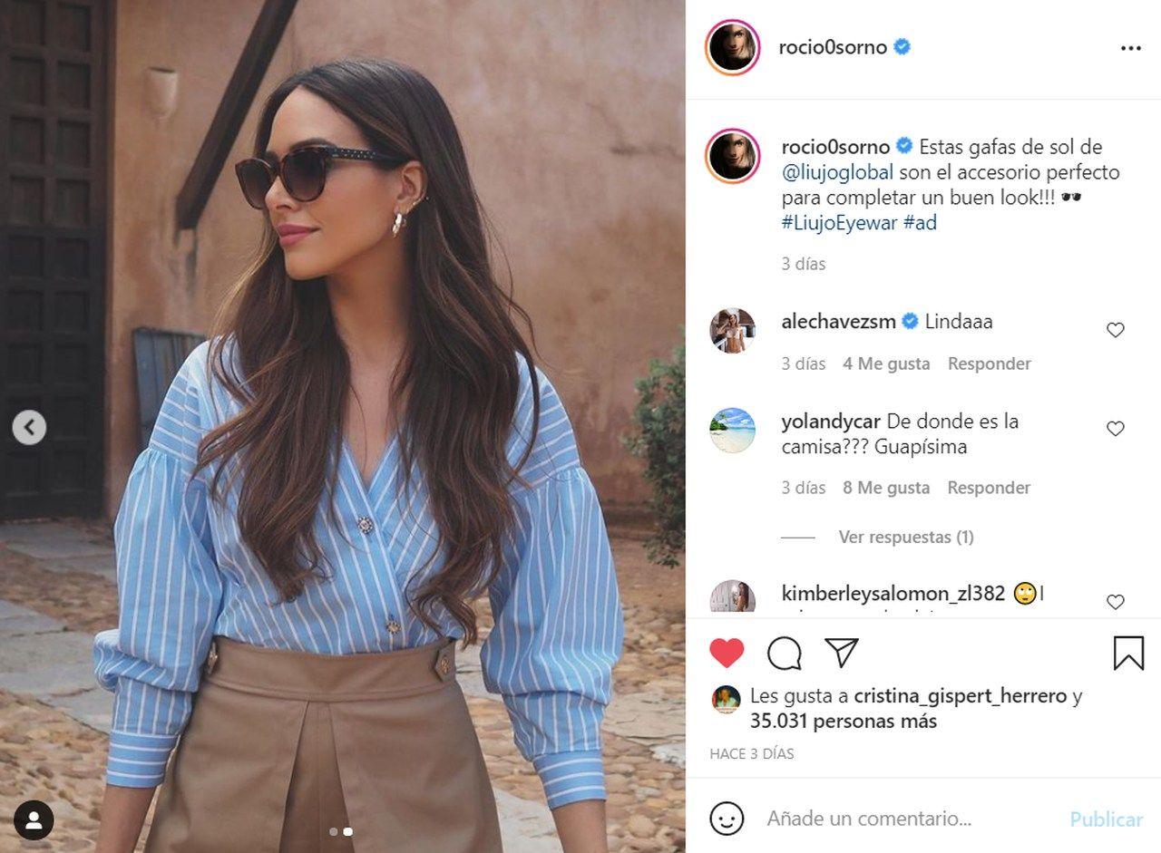 Rocio Osorno & Liujo Eyewear, el estilo italiano que mejor expresa el glamour y la feminidad