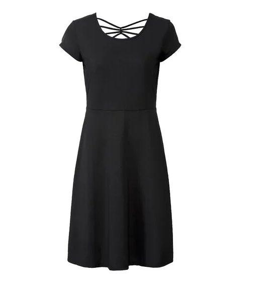Lidl vestido negro