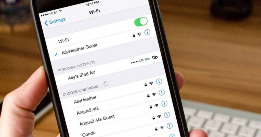 Consecuencias de conectar tu iPhone a una red WiFi