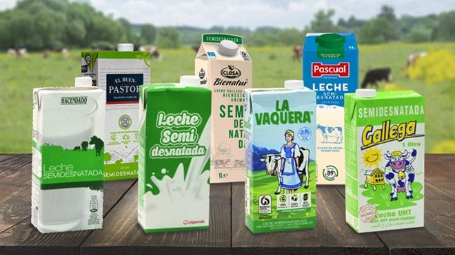 La leche semidesnatada, la más consumida