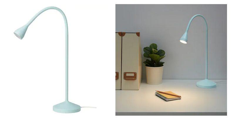 La lámpara teledirigida del Ikea