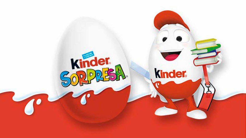 El famoso Huevo Kinder