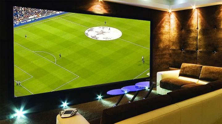 Ver el fútbol desde casa