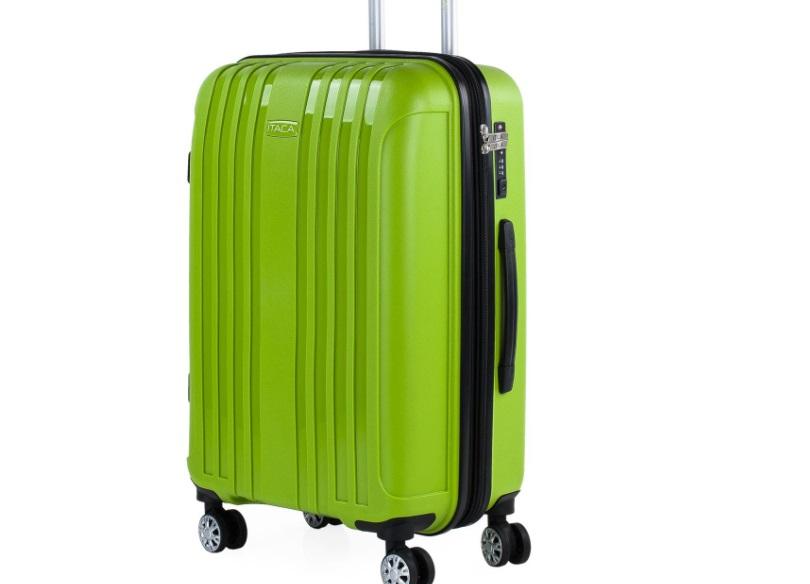 maleta rígida verde