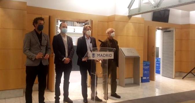 Los cuatro concejales de Recupera Madrid