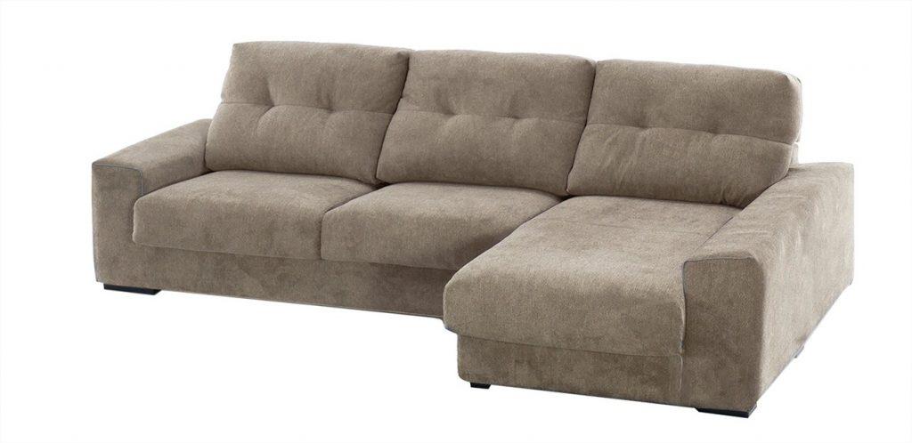 sofa tapizado chaise longue el corte ingles