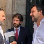 Del amor al odio: Salvini y Vox, chocan por culpa de Carles Puigdemont