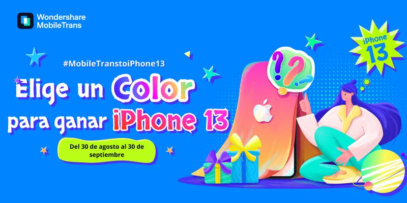 La empresa Wondershare lanza un concurso para ganar un iPhone 13
