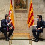 Pedro Sánchez 'humilla' al Estado ante Pere Aragonès