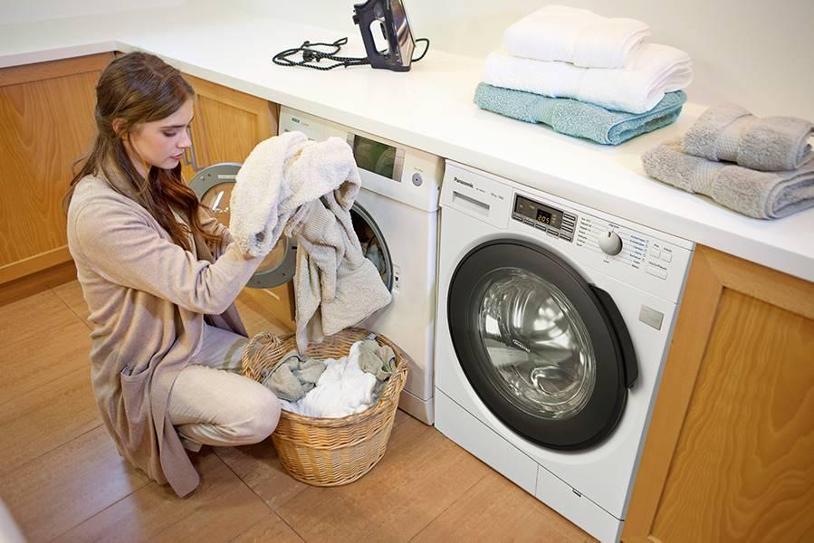 Al salir de la secadora ropa