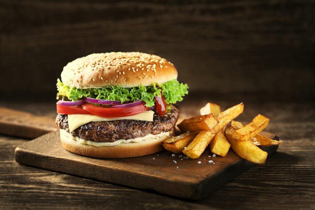 Alemania: Hamburguesa comidas