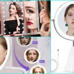 Espejos iluminadores de Amazon muy económicos para lograr un maquillaje perfecto