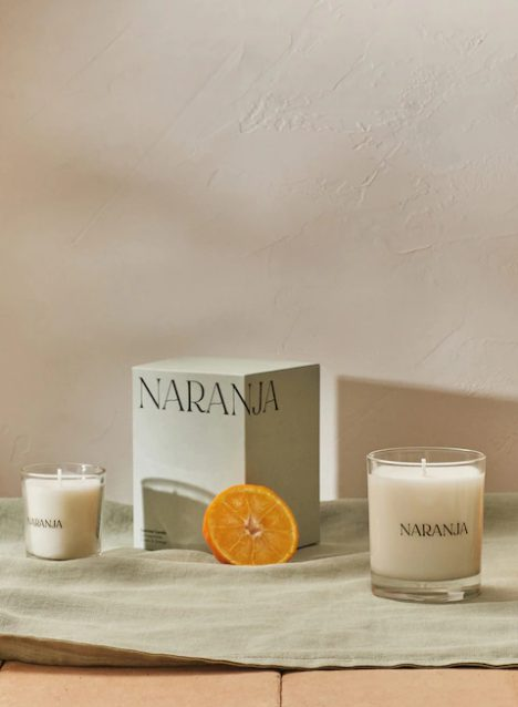 Vela aromática Naranja Mango