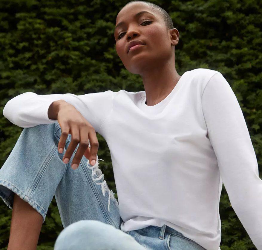 camiseta blanca primark