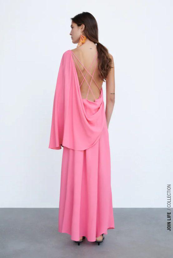 vestido capa