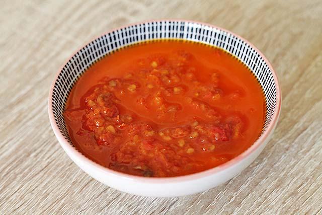 salsa harissa huevos